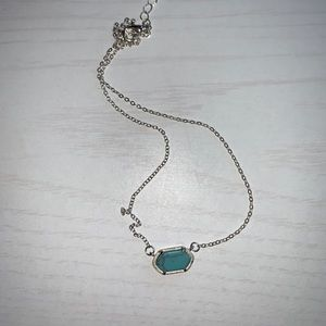 Jewelry - turquoise necklace- Kendra Scott look a like